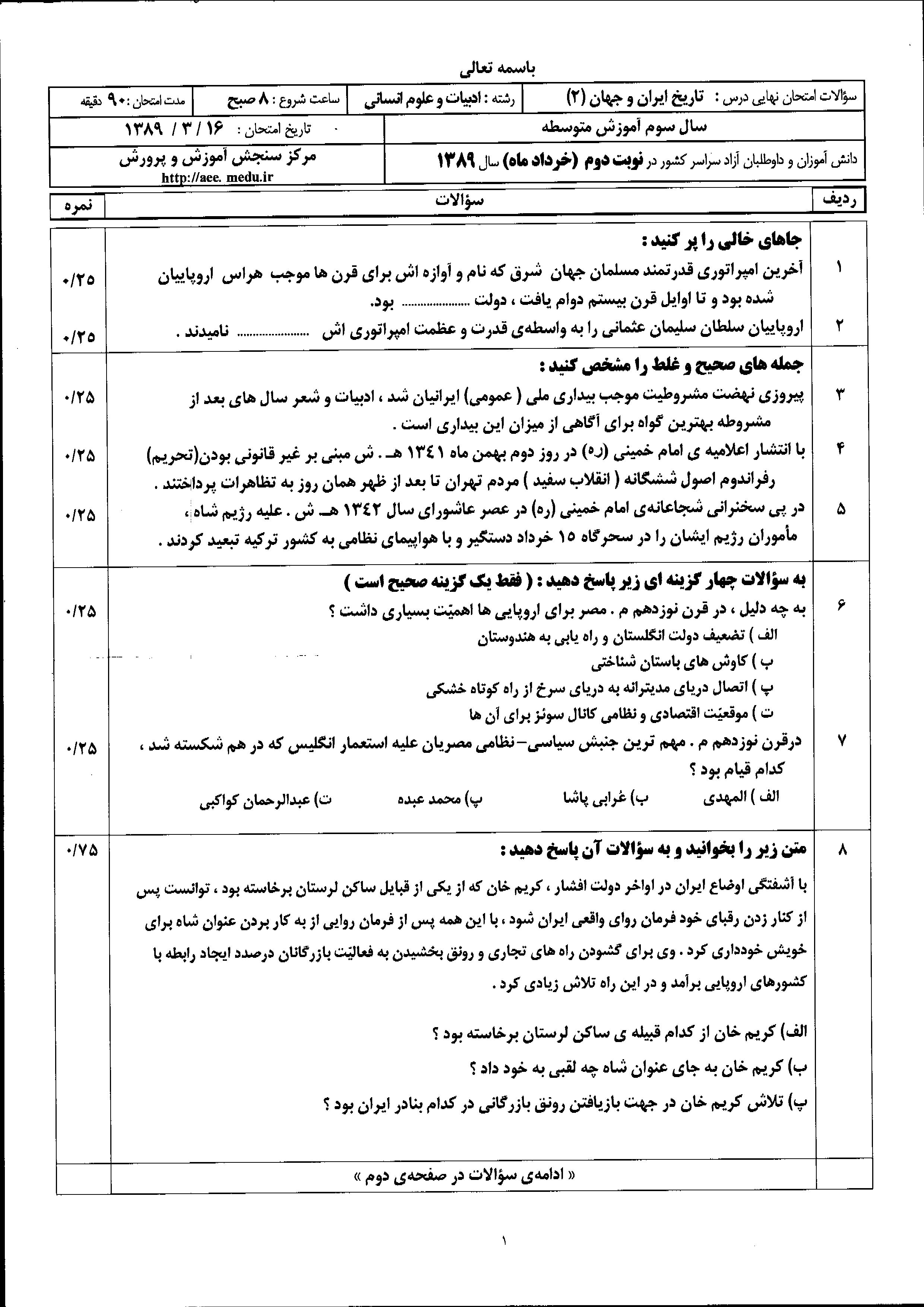 کانال+تلگرام+تاریخ+ایران+و+جهان